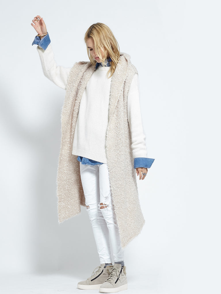 Shearling Cardi | Fawn - Banjo & Matilda | International  - 6