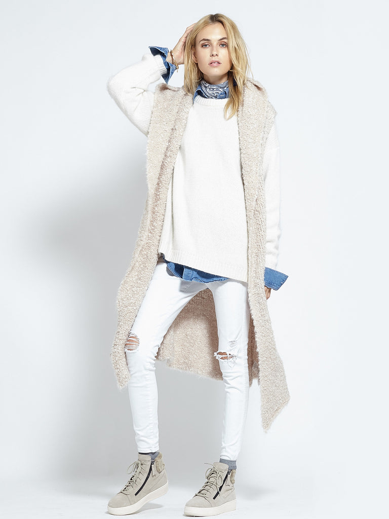 Shearling Cardi | Fawn - Banjo & Matilda | International  - 7