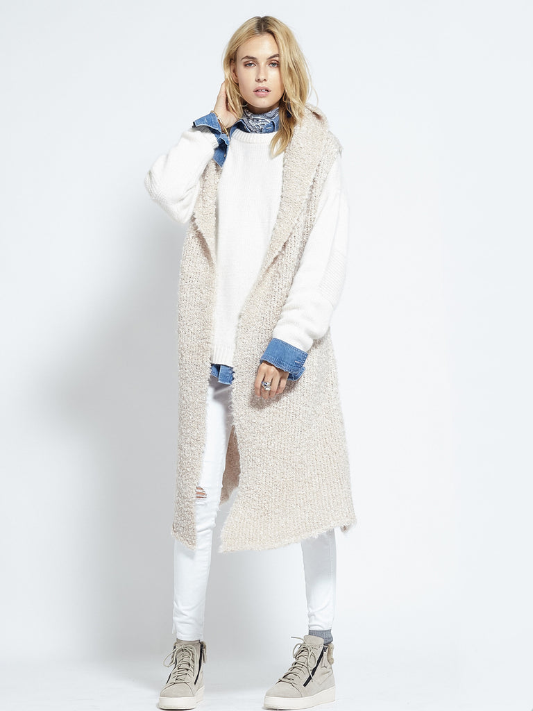 Shearling Cardi | Fawn - Banjo & Matilda | International  - 8