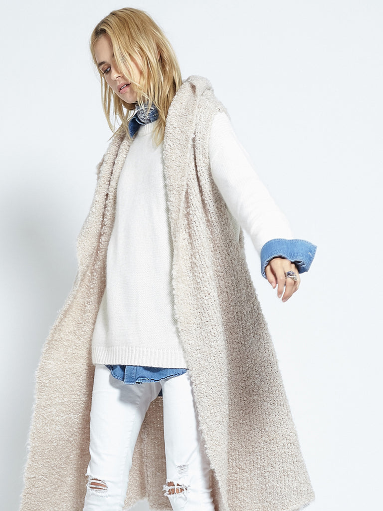 Shearling Cardi | Fawn - Banjo & Matilda | International  - 9