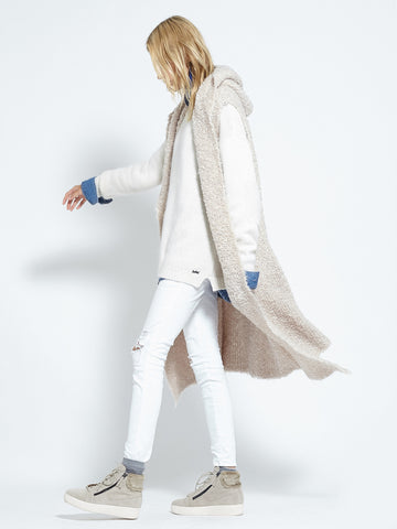 Shearling Cardi | Fawn - Banjo & Matilda | International  - 11