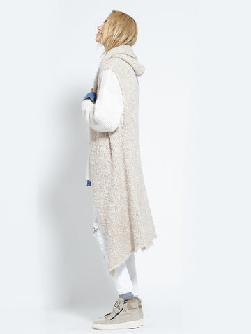 Shearling Cardi | Fawn - Banjo & Matilda | International  - 12
