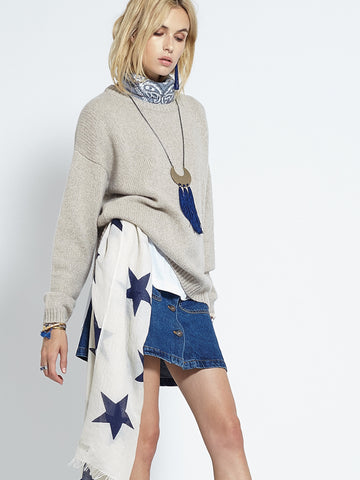 Classic Oversized Crew | Sandstone - Banjo & Matilda | International  - 7