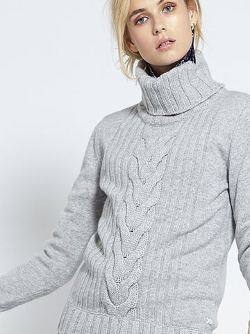 Speakeasy Cable Sweater | Grey - Banjo & Matilda | International  - 4