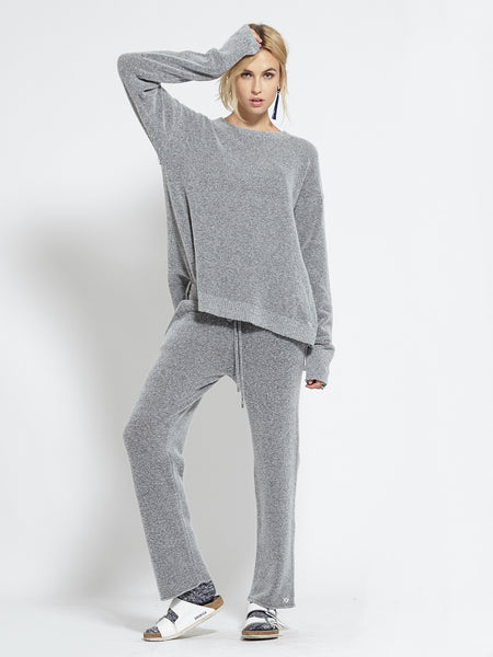 Felted Lounging Pants | Grey