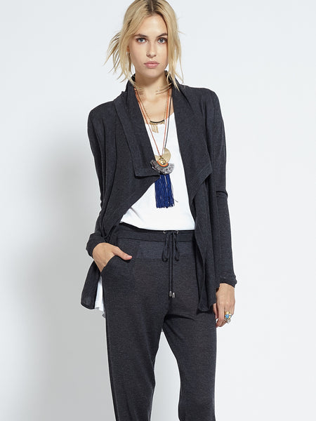 New Cruising Cardi | Charcoal