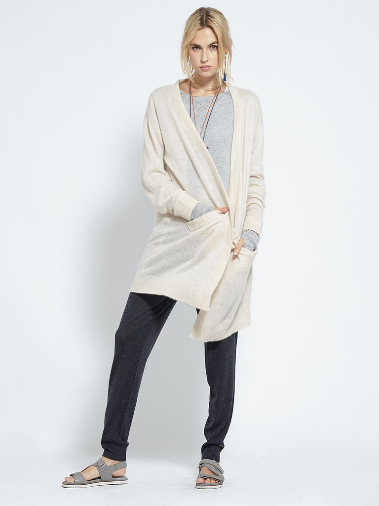 Caresse Oversized Coatigan | Chamois - Banjo & Matilda | International  - 1