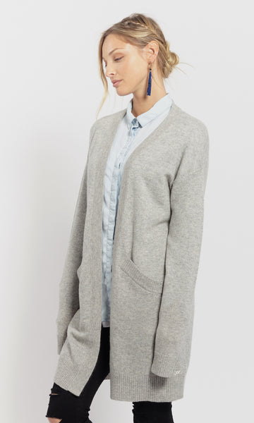 Oversized Coatigan | Grey