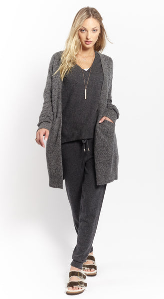 Oversized Coatigan | Black Marle