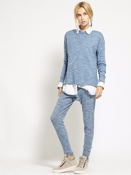 Hemingway Crew Neck Sweater | Blue Marle