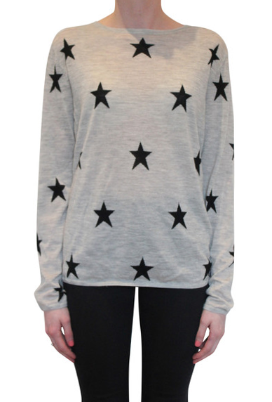 Star Crew | Grey & Black