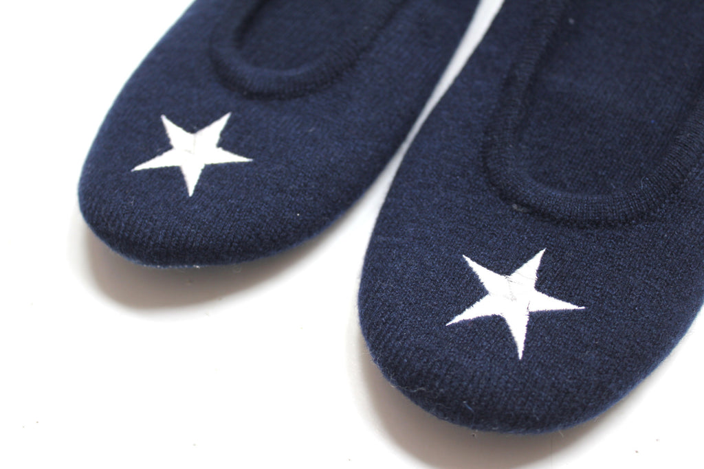Star Slippers | Navy + Ivory - Banjo & Matilda | International  - 2