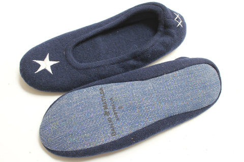 Star Slippers | Navy + Ivory - Banjo & Matilda | International  - 5