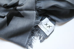 Star Scarf | Grey + Black - Banjo & Matilda | International  - 4