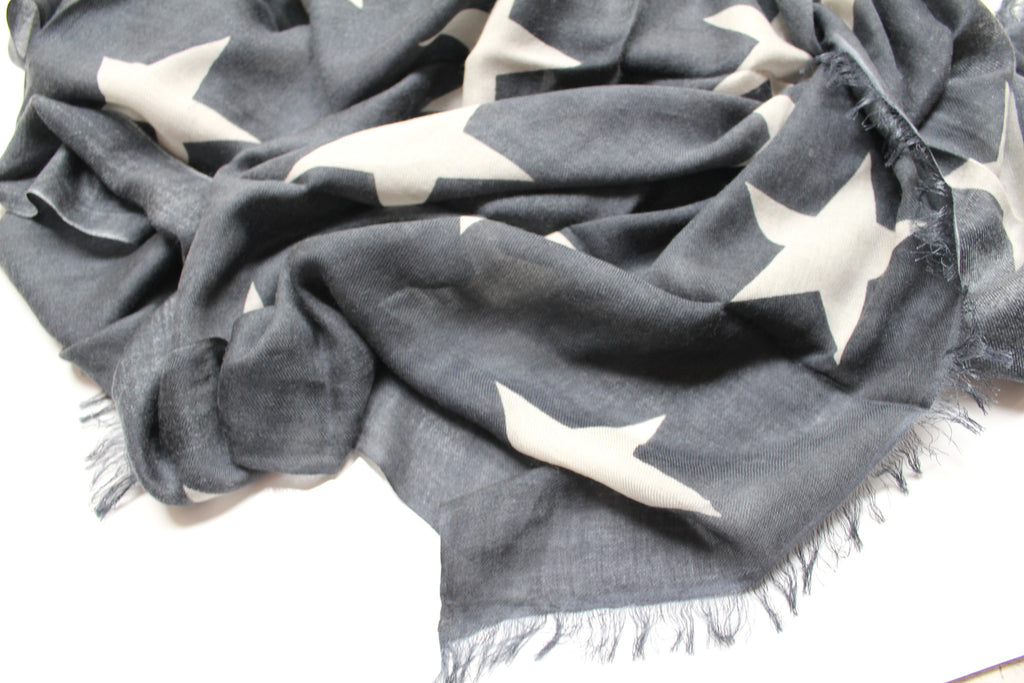 Star Scarf | Grey & Ivory - Banjo & Matilda | International  - 2