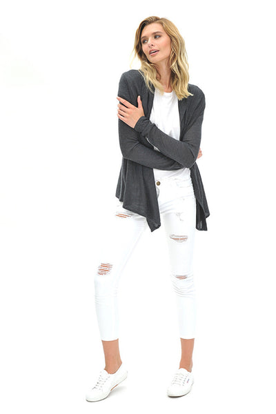 Cruising Cardigan | Charcoal