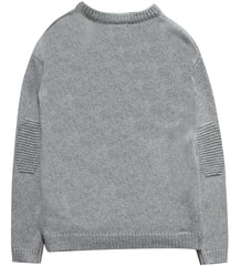 Classic Oversized Crew | Heather Grey