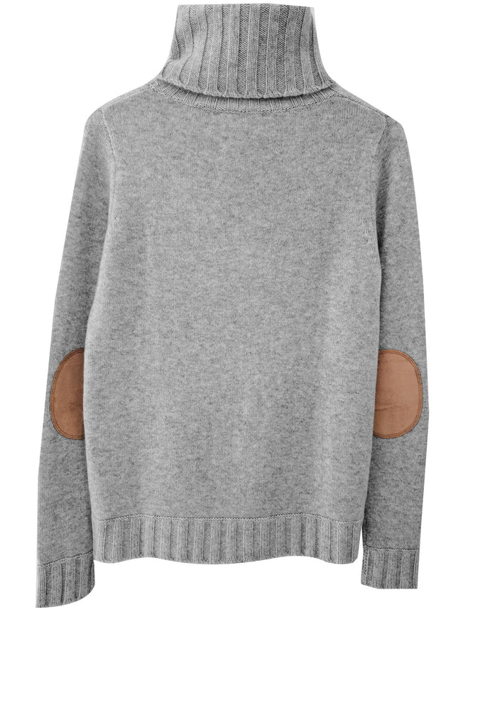Speakeasy Cable Sweater | Heather Grey