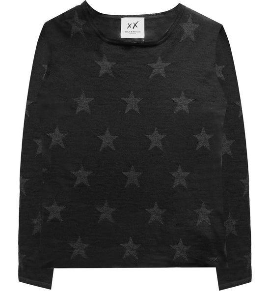 Star Crew | Black & Charcoal