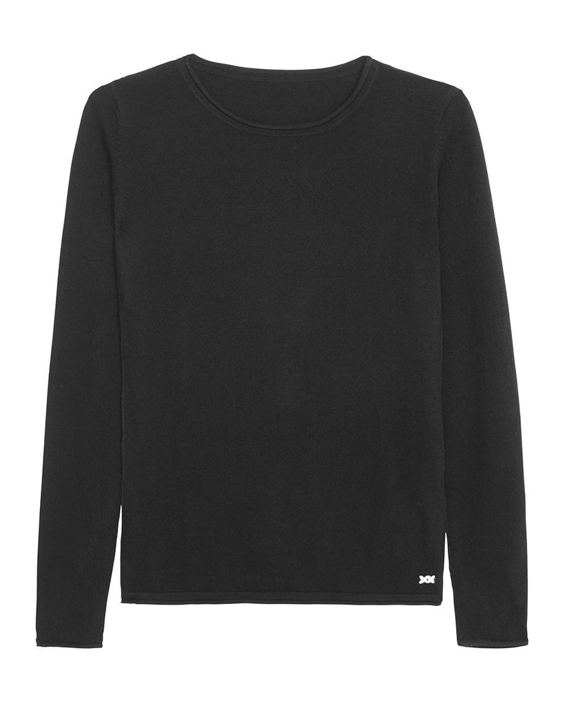 Surfer Crew Neck Sweater | Black - Banjo & Matilda | International  - 3
