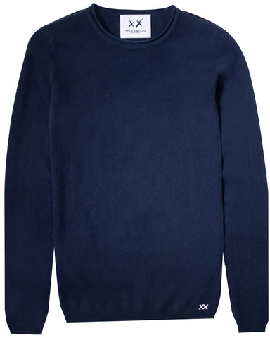 Surfer Crew Neck Sweater | Navy