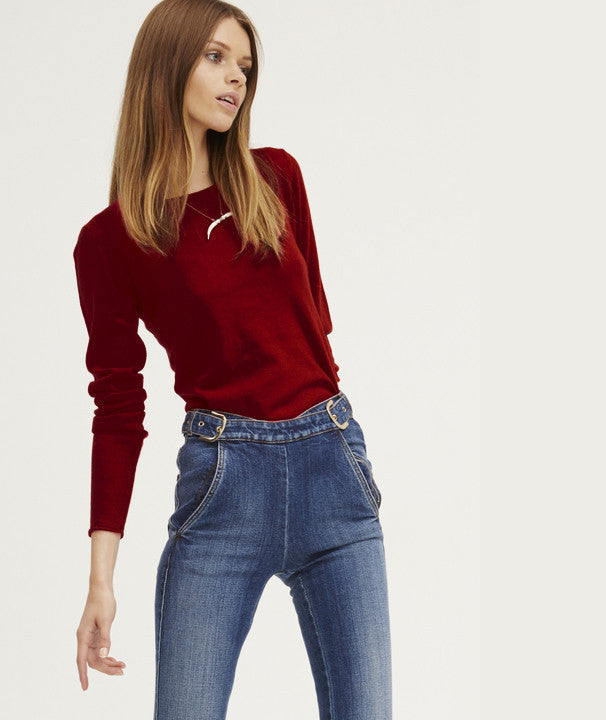 Surfer Crew Neck Sweater | Ruby - Banjo & Matilda | International  - 4