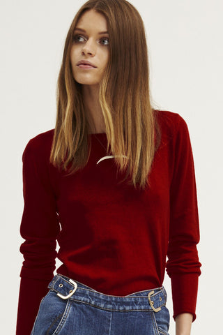 Surfer Crew Neck Sweater | Ruby - Banjo & Matilda | International  - 1