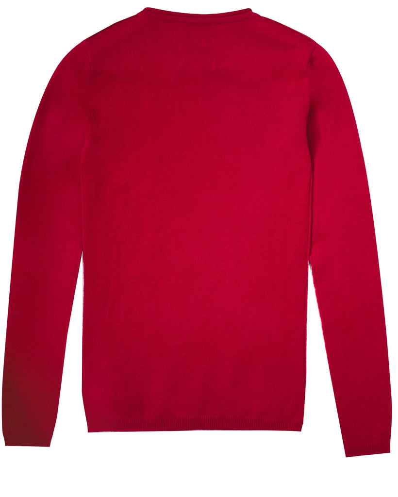 Surfer Crew Neck Sweater | Ruby