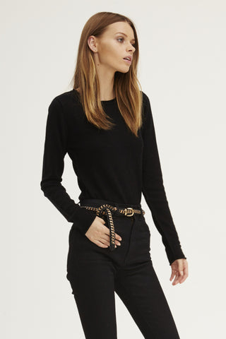 Surfer Crew Neck Sweater | Black - Banjo & Matilda | International  - 2