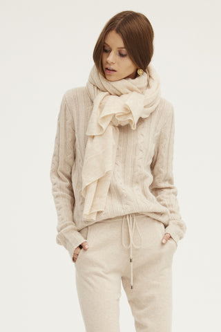 Caresse Wrap Scarf | Chamois - Banjo & Matilda | International  - 3