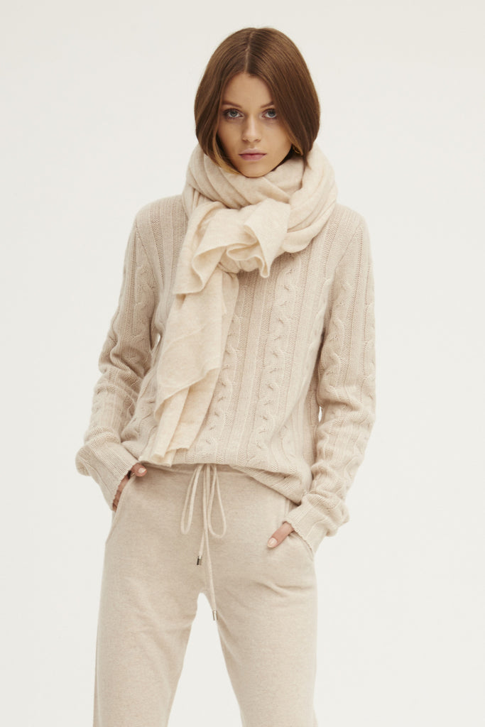 Caresse Wrap Scarf | Chamois - Banjo & Matilda | International  - 5