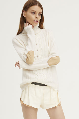 Speakeasy Cable Sweater | Ivory - Banjo & Matilda | International  - 2