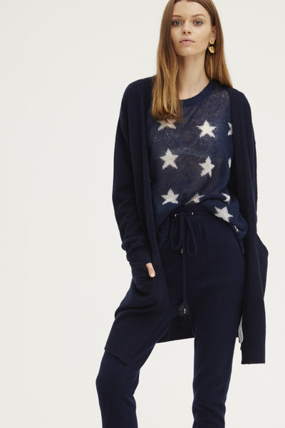 Oversized Coatigan | Navy