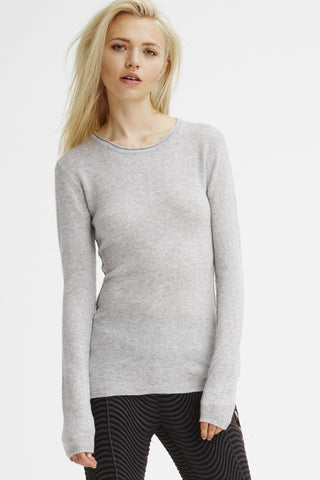 Surfer Crew Neck Sweater | Heather Grey - Banjo & Matilda | International  - 2