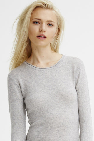 Surfer Crew Neck Sweater | Heather Grey - Banjo & Matilda | International  - 1