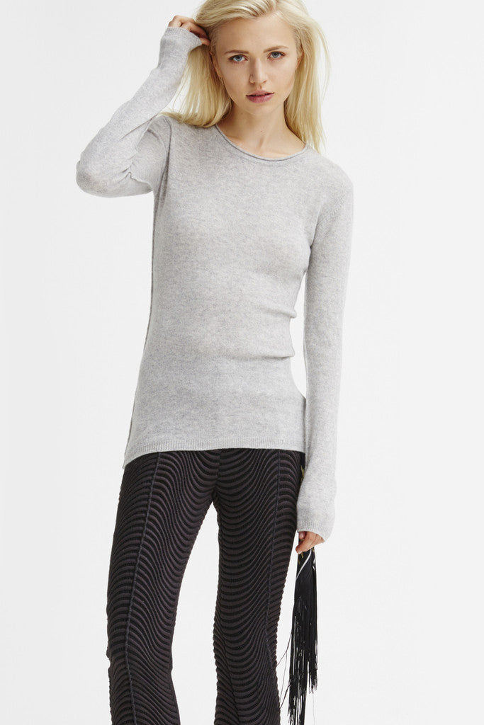 Surfer Crew Neck Sweater | Heather Grey - Banjo & Matilda | International  - 4