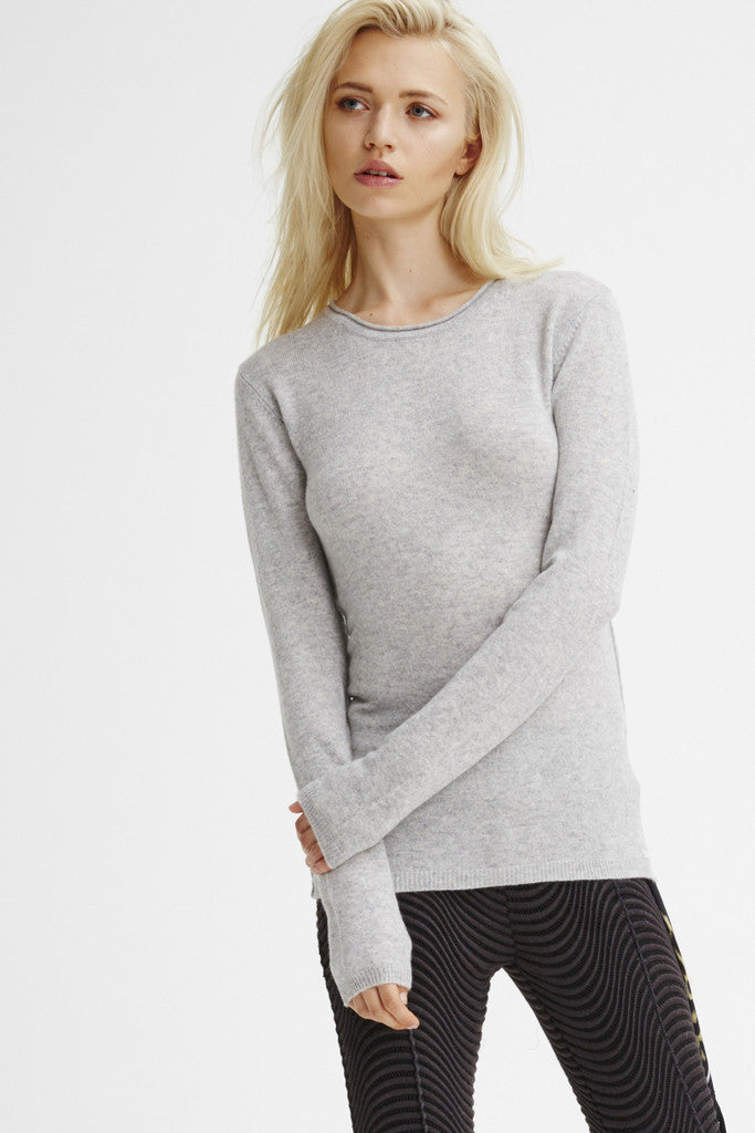 Surfer Crew Neck Sweater | Heather Grey - Banjo & Matilda | International  - 3