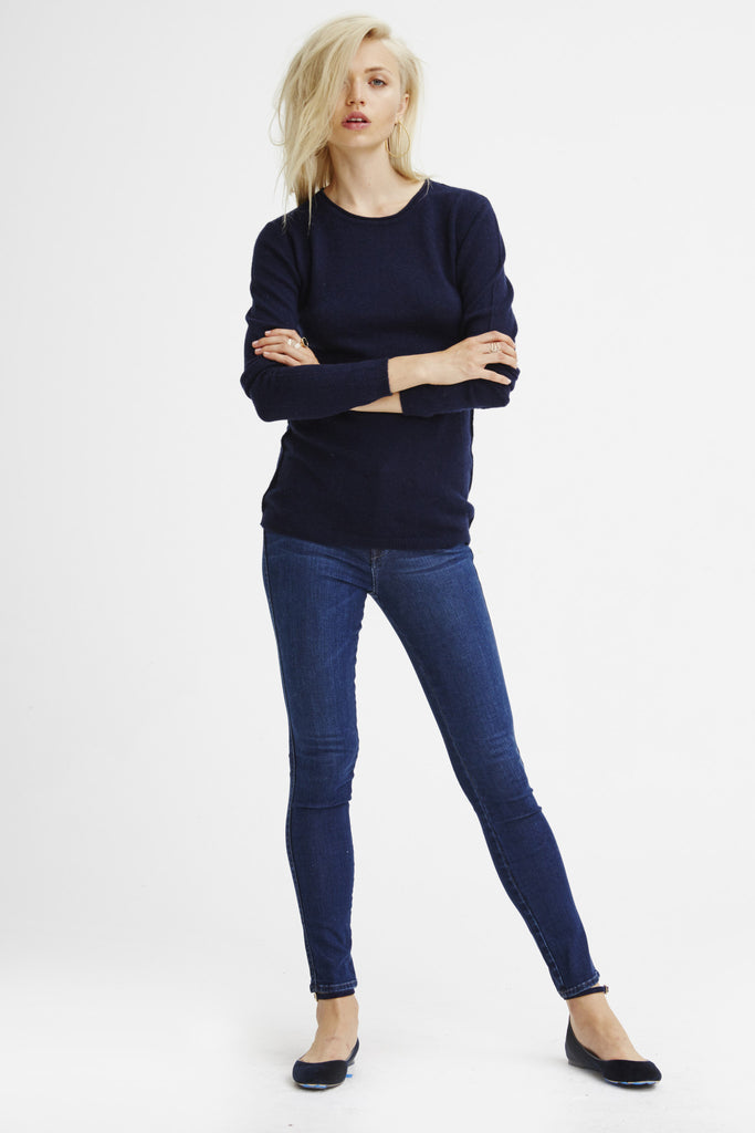 Surfer Crew Neck Sweater | Navy - Banjo & Matilda | International  - 4