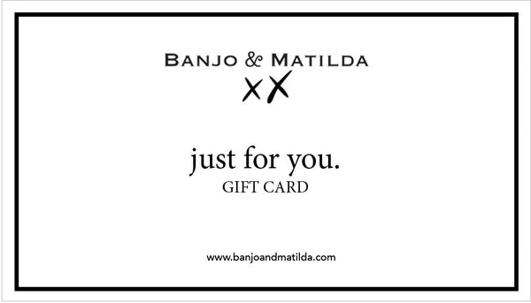 The Banjo E-Gift Card