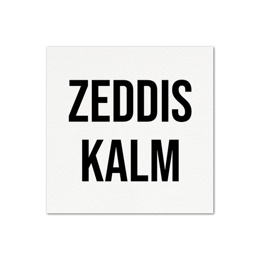STICKERS - ZEDDIS KALM