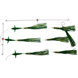 Spreader Bars -12 inch Slammer BIRD Bars - Reel Draggin' Tackle - 1