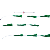 Squid Bar Lines -ReRig Kits - Reel Draggin' Tackle - 1