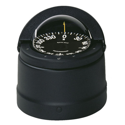 Ritchie DNB-200 Navigator Compass - Binnacle Mount - Black - Reel Draggin' Tackle