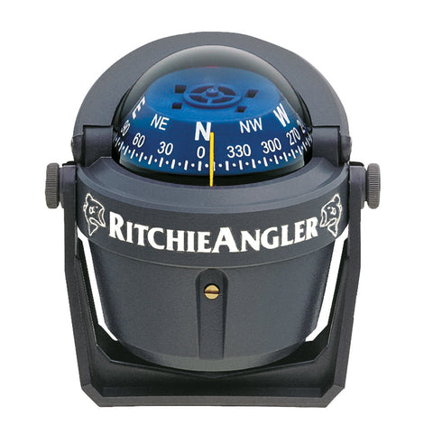 Ritchie RA-91 RitchieAngler Compass - Bracket Mount - Gray - Reel Draggin' Tackle