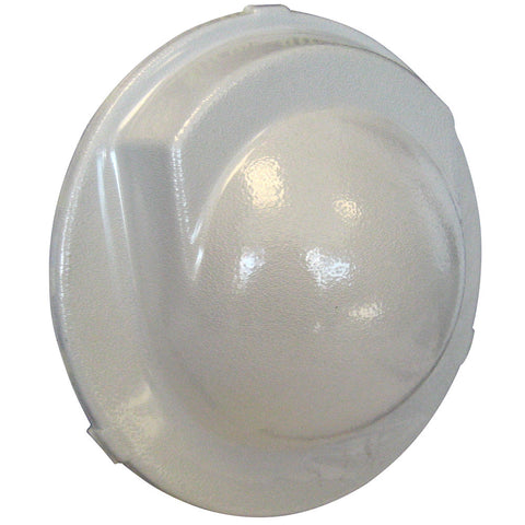 "Ritchie LL-C Globemaster 5""Flush Cover - White - Reel Draggin' Tackle"