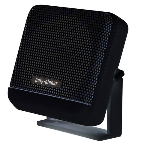 PolyPlanar VHF Extension Speaker - 10W Surface Mount - (Single) Black - Reel Draggin' Tackle