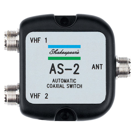 Shakespeare AS-2 Automatic Coaxial Switch - Reel Draggin' Tackle