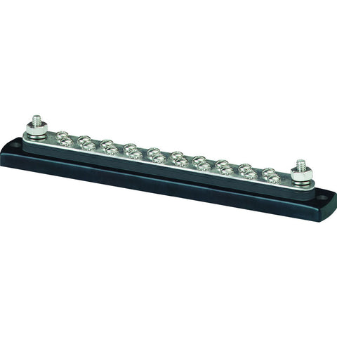 Blue Sea 2302, 150 Ampere Common BusBar 20 x 8-32 Screw Terminal - Reel Draggin' Tackle