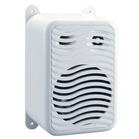 PolyPlanar Gunwale Mount Speakers - (Pair) White - Reel Draggin' Tackle