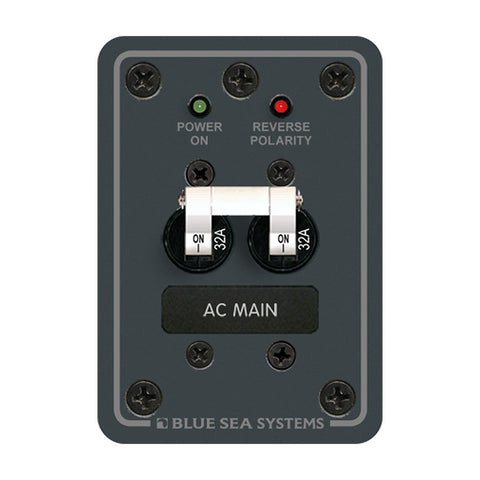 Blue Sea 8179 AC Main (European) - 230v - 32A - Reel Draggin' Tackle